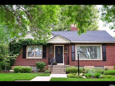 Salt Lake City Single Family Home For Sale: 1781 S 2000 St E