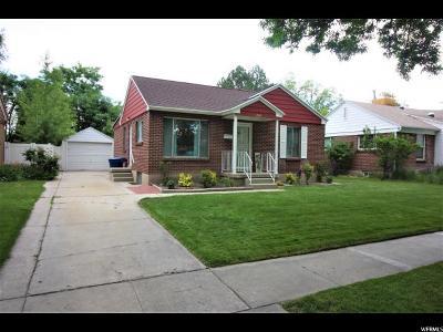 Salt Lake City UT Single Family Home For Sale: $269,000