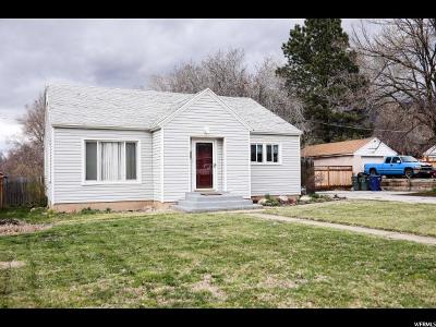 Ogden Single Family Home For Sale: 962 36th
