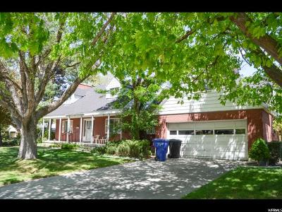 Holladay Single Family Home For Sale: 5735 S Oakdale Dr E