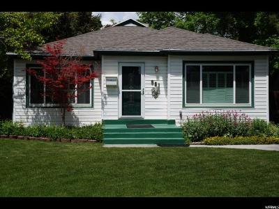 Salt Lake City UT Single Family Home For Sale: $374,900