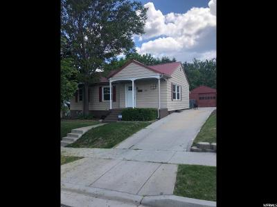 Ogden Single Family Home For Sale: 3860 S Raymond Ave. E
