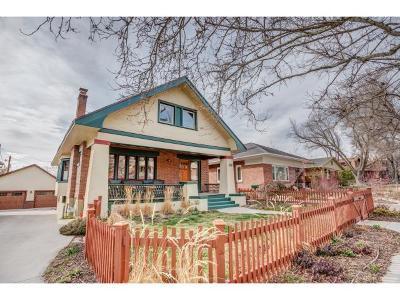 Salt Lake City Single Family Home For Sale: 1390 S 1500 E