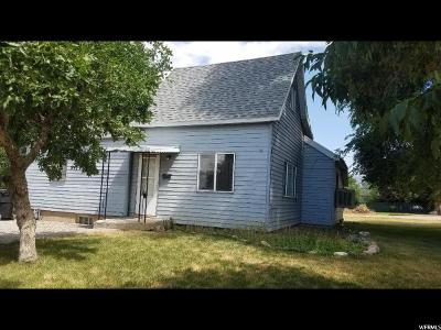 Brigham City UT Single Family Home For Sale: $139,000