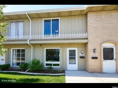 Salt Lake City UT Townhouse For Sale: $204,900