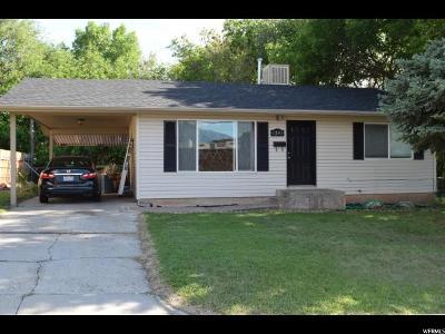 Ogden UT Single Family Home For Sale: $189,000