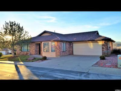 St. George Single Family Home For Sale: 2398 S Canterbury Rd