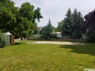 Provo Residential Lots & Land For Sale: 4161 N Canyon Road Rd E