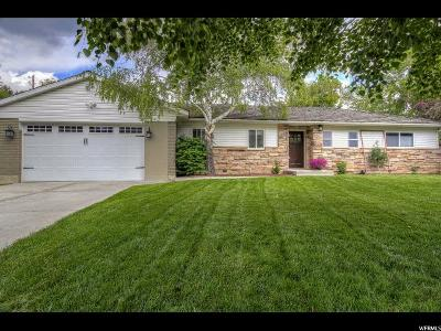 Holladay Single Family Home For Sale: 6055 S Linden Way E