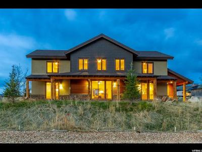 Park City Single Family Home For Sale: 6870 Mineral Loop