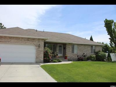 South Jordan Single Family Home For Sale: 9657 S Lily Garden Ct W