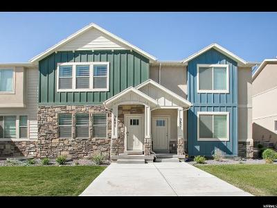 Eagle Mountain Townhouse For Sale: 3641 E Flint Creek Ln