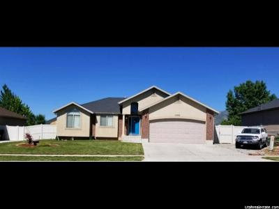 Santaquin Single Family Home For Sale: 1386 W Sageberry Dr S