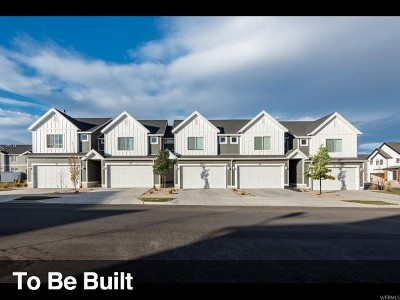 Herriman Townhouse For Sale: 12366 S Andante Dr #1036