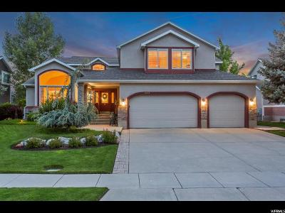 Cottonwood Heights Single Family Home For Sale: 6578 S Bouchelle Ln E