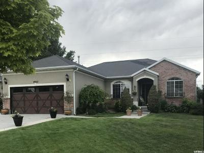 South Jordan Single Family Home For Sale: 4952 W Woodranch Dr
