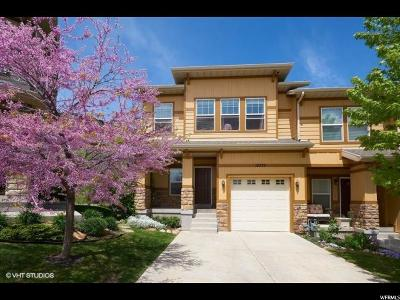 Draper Townhouse For Sale: 14772 S Deer Park Ln E