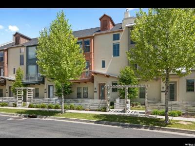 South Jordan Townhouse For Sale: 11363 S Oakmond Rd W