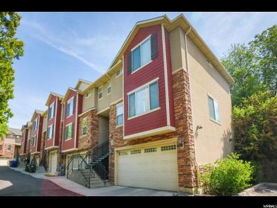 Salt Lake City UT Townhouse Sold: $344,000