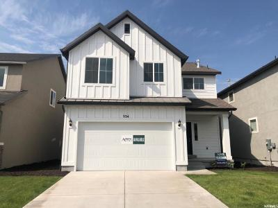 Bluffdale Single Family Home For Sale: 934 W McKenna Rd S #163
