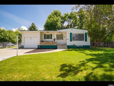 Logan Single Family Home For Sale: 1190 N 400 E
