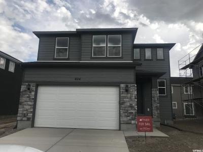 American Fork Single Family Home For Sale: 824 E 340