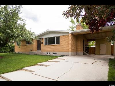 Provo UT Single Family Home For Sale: $288,500