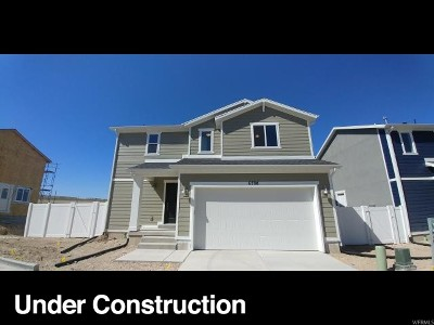 West Jordan Single Family Home For Sale: 6824 W Pamona Ct S #37
