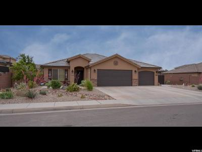 St. George Single Family Home For Sale: 2694 E Amaranth Dr