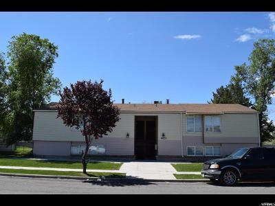 Salt Lake City Multi Family Home For Sale: 4123 W 3280 S