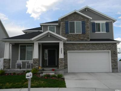 South Jordan Single Family Home For Sale: 3662 W Grassy Mdw