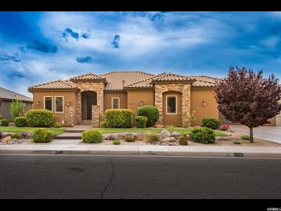 St. George Single Family Home For Sale: 2622 E Rasmussen Dr