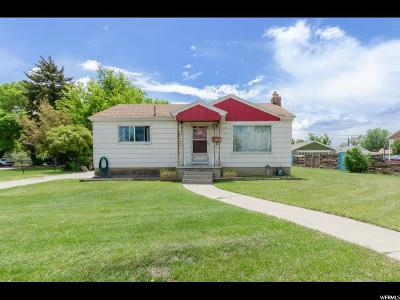 Midvale Single Family Home For Sale: 351 W Center St S