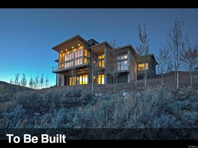 Park City Single Family Home For Sale: 6699 Golden Bear Loop West #2-46