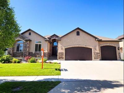 Herriman Single Family Home For Sale: 5147 W Ashland Rose Dr