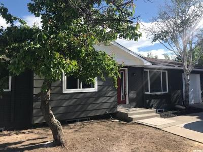 West Valley City Single Family Home For Sale: 6869 W Crest St