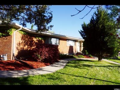 Salt Lake City Single Family Home For Sale: 2474 E Village Cir S