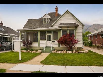 Ogden Single Family Home For Sale: 2570 S Gramercy Ave