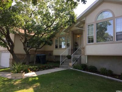 Sandy Single Family Home For Sale: 2824 E Wasatch Blvd