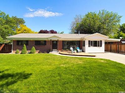 Cottonwood Heights UT Single Family Home For Sale: $379,000