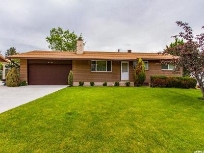Taylorsville Single Family Home For Sale: 6107 S Sierra Grande Dr W