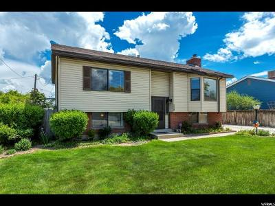 West Valley City Single Family Home For Sale: 3891 S Ann Dr W