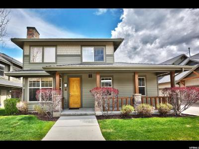 Park City Townhouse For Sale: 6163 Fox Pointe Cir #A1