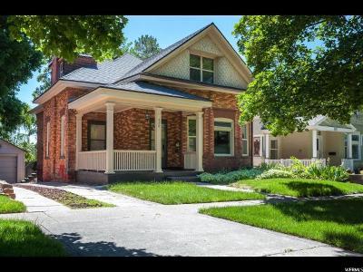 Salt Lake City Single Family Home For Sale: 976 E 1st Ave