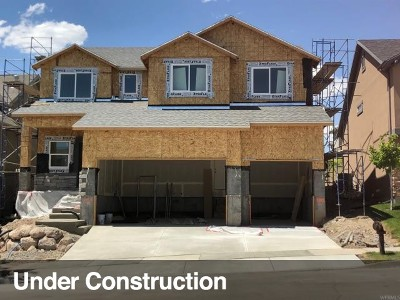 Lehi Single Family Home For Sale: 2064 W Woodview Dr N #4