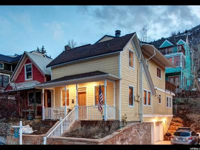 Park City Single Family Home For Sale: 263 Park Ave #16