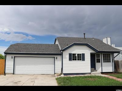Magna Single Family Home For Sale: 7870 W Woolley Way