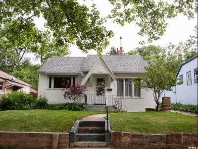 Ogden UT Single Family Home For Sale: $170,000