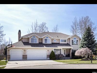 Cottonwood Heights Single Family Home For Sale: 2634 E Seraphine Cv