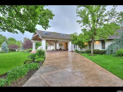 Holladay Single Family Home For Sale: 2414 E Oakhill Dr